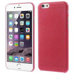 Ultra dunne, stevige 0.3 mm dikke iPhone 6 6s hoesjes - Rood