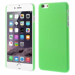 Stevige gekleurde hardcase iPhone 6 Plus 6s Plus Hoesje - Groen
