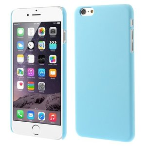 Stevige gekleurde hardcase iPhone 6 Plus 6s Plus Hoesje - Lichtblauw