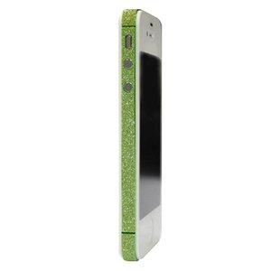 Skin iPhone 4 4s glitter Bumper stickers Color Edge glamour - Groen
