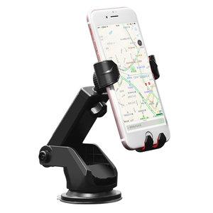 Hoco CA26 Kingcrab Universele telefoonhouder zuignap - Zwart Auto