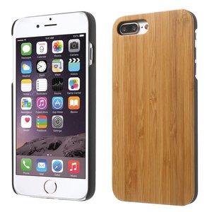 Bamboe hoesje houten case iPhone 7 Plus 8 Plus - Echt hout