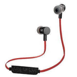 BH-M9 In-Ear handsfree draadloze Bluetooth 4.1 Sport oordopjes mic - Zwart Rood