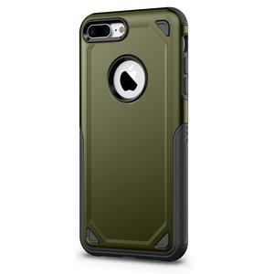 Pro Armor Army Green beschermend hoesje iPhone 7 Plus 8 Plus - Groen Case