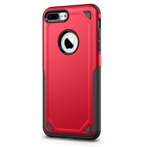 Pro Armor Red beschermend hoesje iPhone 7 Plus 8 Plus - Rood Case