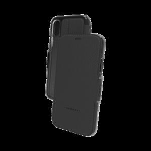 Gear4 Oxford iPhone X XS hoesje - Black Case
