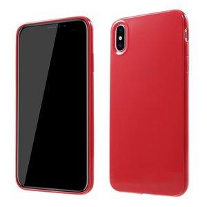 Flexibel TPU hoesje iPhone XS Max Case - Rood