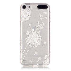 Blaasbloem Hoesje iPod Touch 5 6 7 Case - Doorzichtig