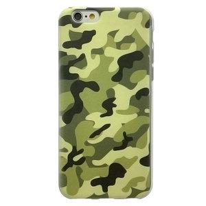 Leger hoesje iPhone 6 / 6s Legerprint Camouflage patroon