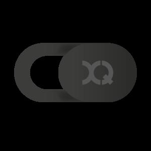 Xqisit Sliding Webcam Cover - Zwart