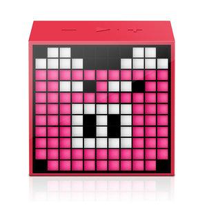 Divoom TimeBox Mini LED bluetooth Speaker - Rood