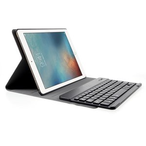 QWERTY Keyboard case leder bluetooth hoes iPad 2017 2018 Pro 9.7 Air 2