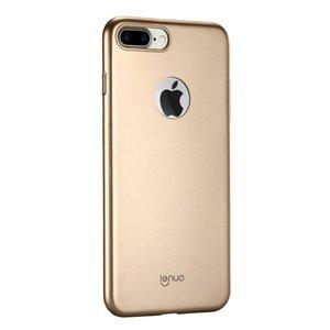 Lenuo extra slim case iPhone 7 Plus 8 Plus hoesje - Goud