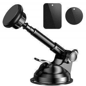 Universele sterke magnetische auto houder standaardcar iPhone Android - Zwart