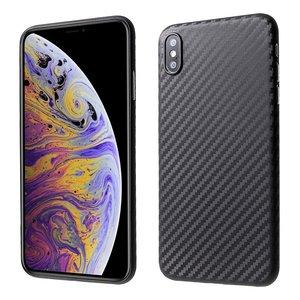 Carbon Fiber hoesje TPU iPhone XS Max Case