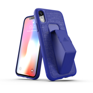Adidas SP Grip Case FW18 Blauw iPhone XR hoesje - Blauw