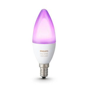 Philips Hue White and Color Ambiance LED E14 6,5W Smartlamp - Wit 16 miljoen kleuren