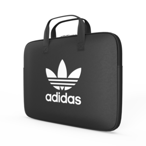 adidas Originals Laptop hoes met ritssluiting 13 inch SS19 Zwart Wit