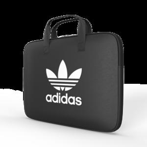 adidas Originals Laptop hoes met ritssluiting 15 inch SS19 Zwart Wit