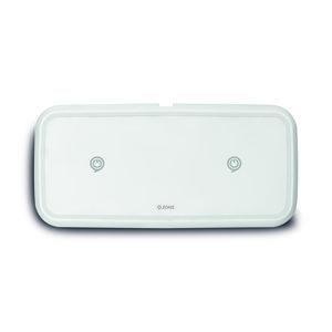 ZENS Dual Fast Draadloze Oplaadpad - 10W Wit