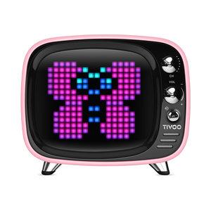 Divoom Tivoo Pixel Art Bluetooth speaker - Roze