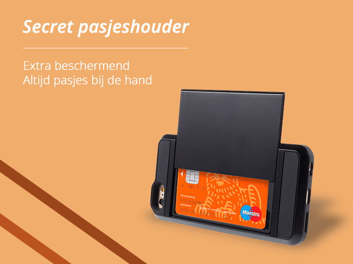 Secret Pasjeshouder iPhone