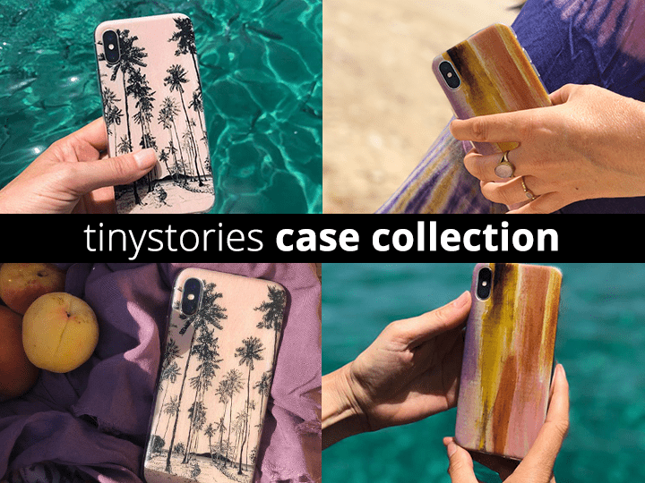Tinystories iPhone cases