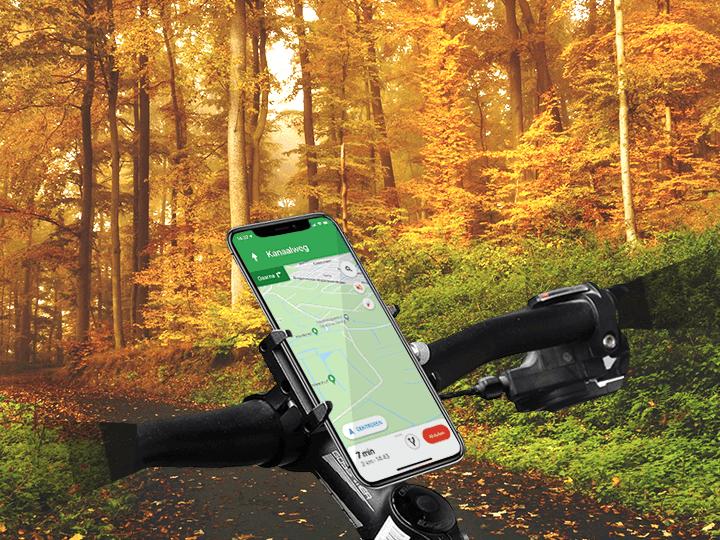 Support de téléphone pour le vélo