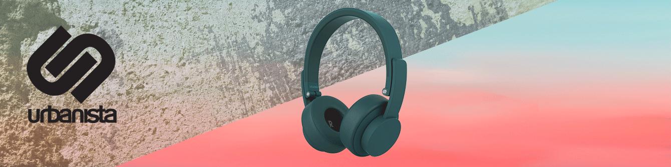 Urbanista koptelefoons en oordopjes